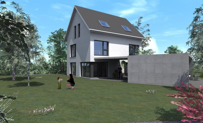 Einfamilienhaus in lupfig suter architekten ag for Architekten schweiz