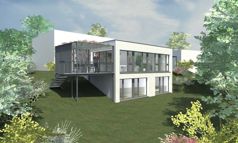 Smallhouse in brunegg suter architekten ag for Architekten schweiz