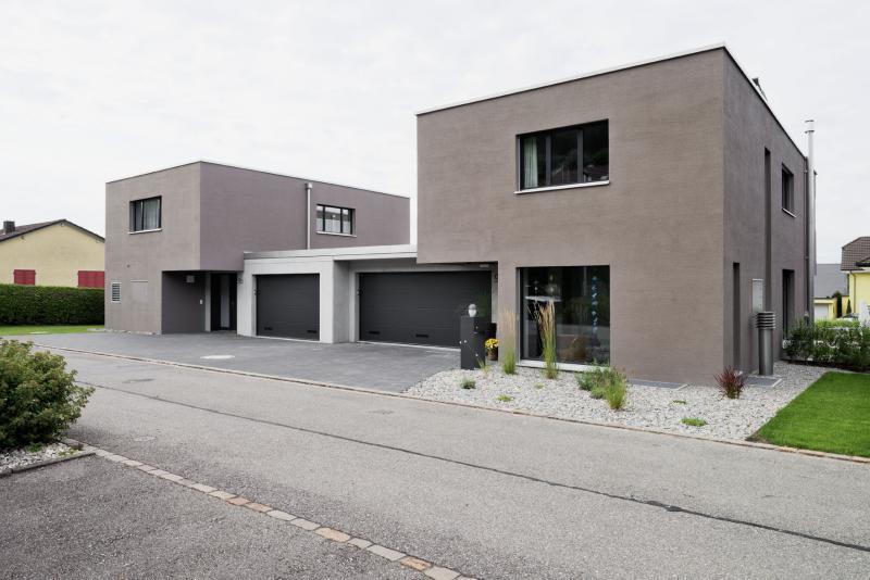 zwei einfamilienh user zwei bed rfnisse haus 1 suter architekten ag. Black Bedroom Furniture Sets. Home Design Ideas